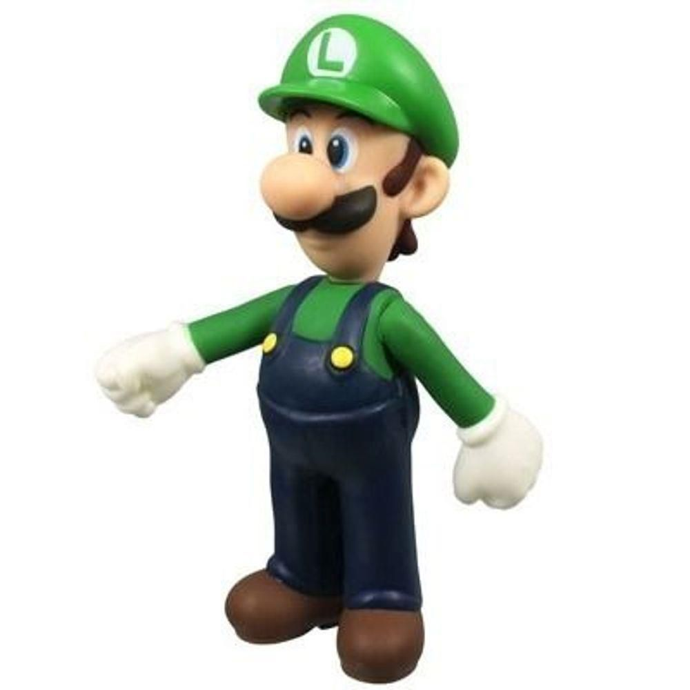 Boneco Luigi Grande Super Mario Collection Figure 25cm