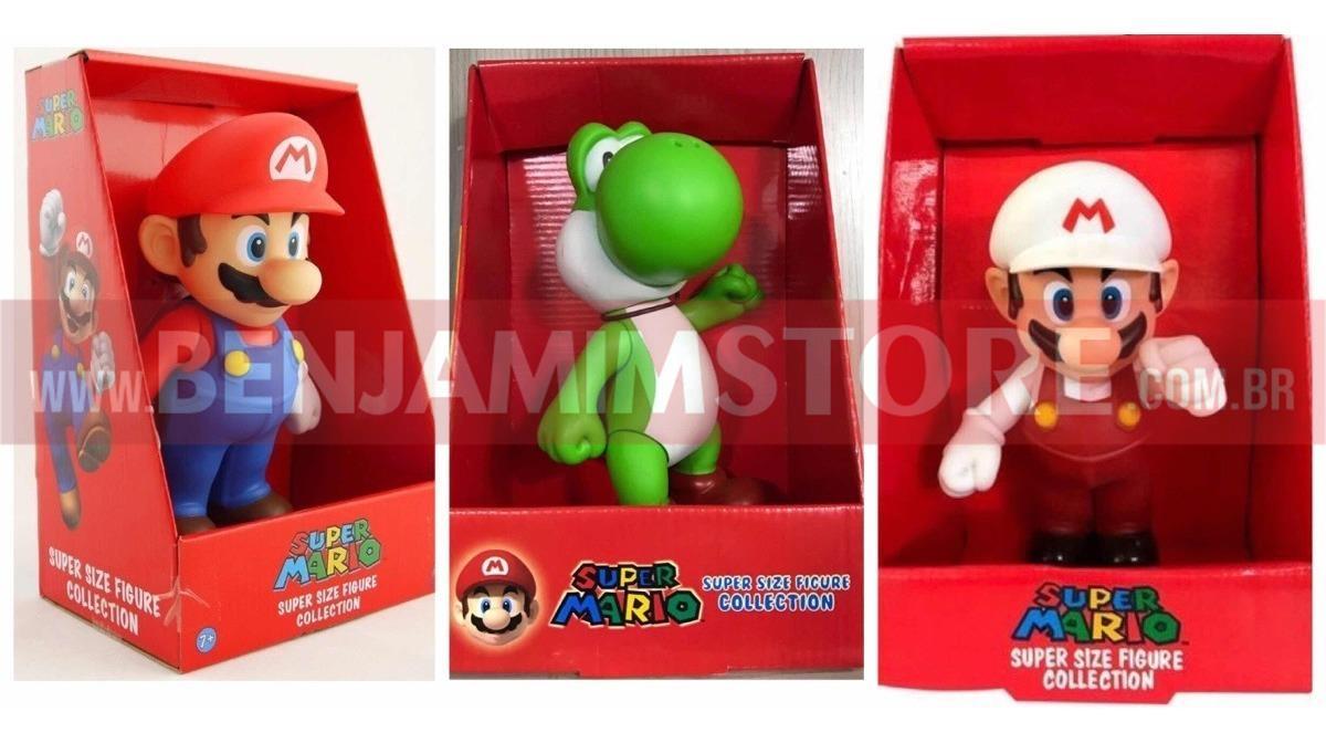 Bonecos Super Mario/Yoshi/Bross Coleção Unidade 20cm
