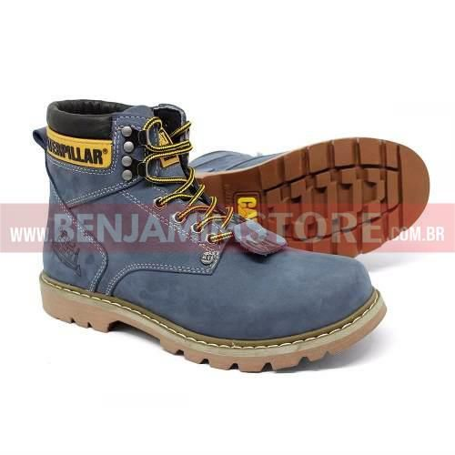 Bota Coturno Adventure Botina Caterp Couro Caterp Original