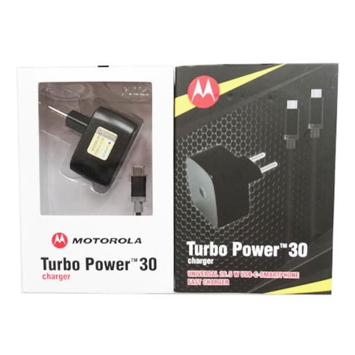 Carregador Turbo Power Charger 3.0 Tipo C Motorola