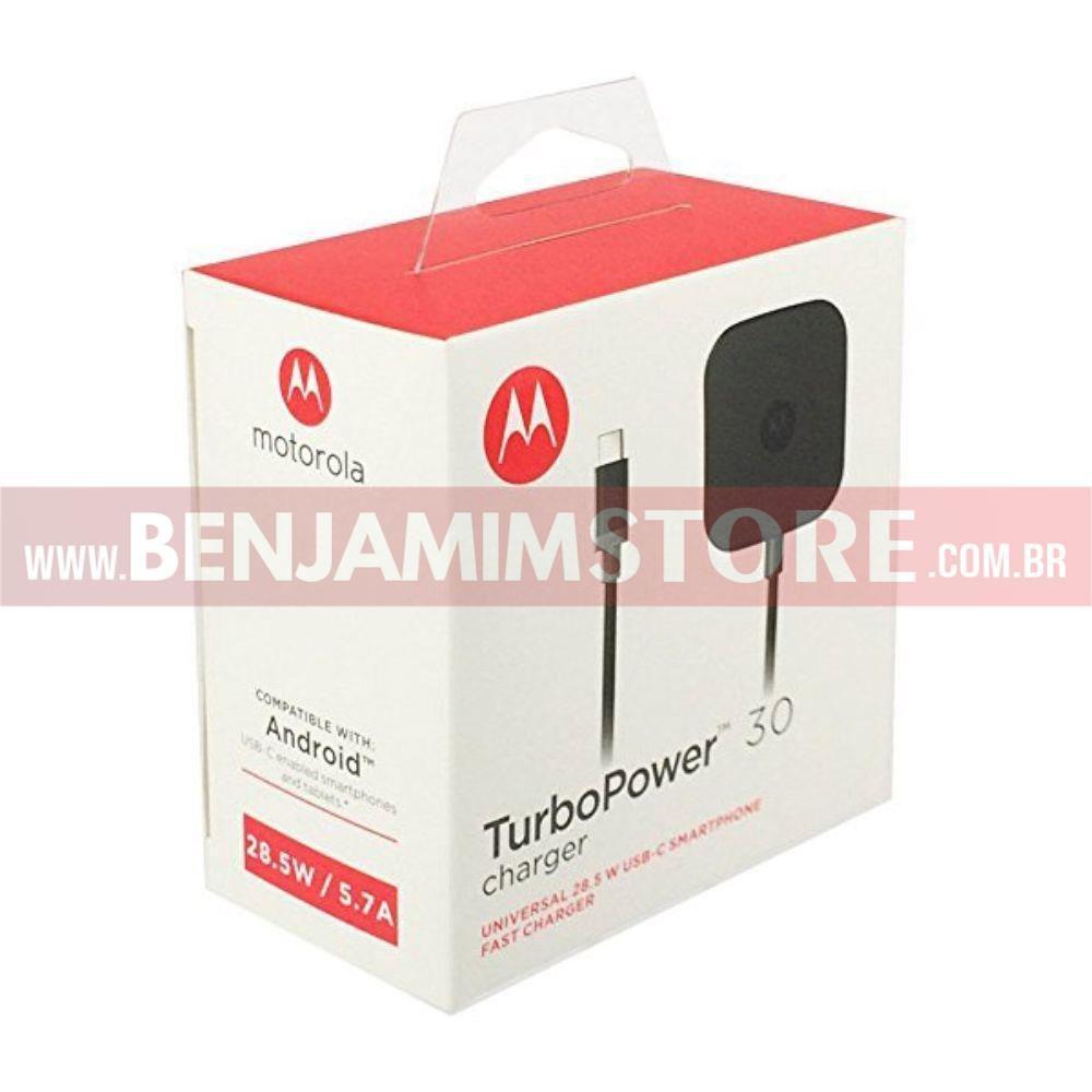 Carregador Turbo Power USB C Tipo C 30w
