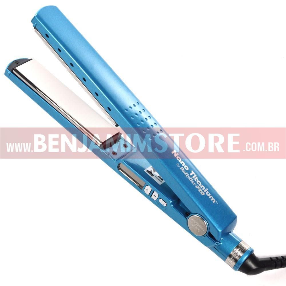 Chapinha Nano Titanium Babyliss Pro 1 1/4 450ºf 110v Original
