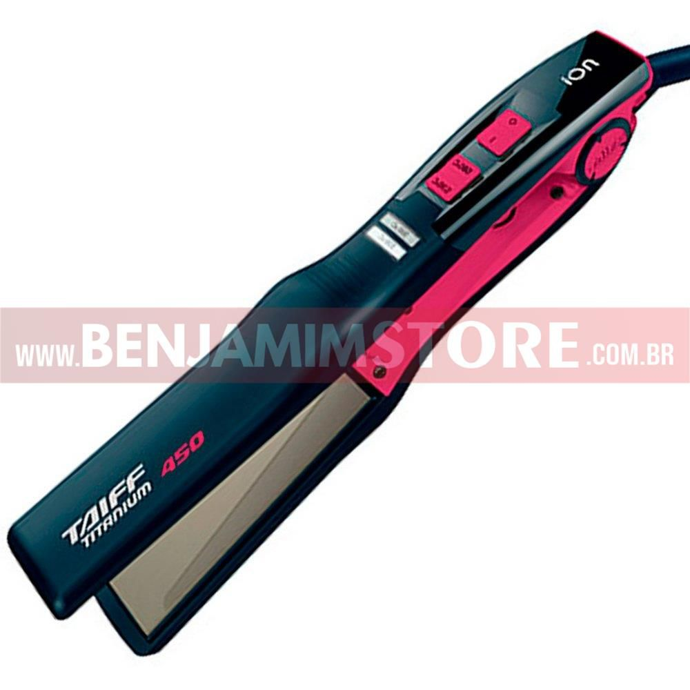 Chapinha Taiff Titanium 450 Colors Pink Liso Intenso 200°C / 230°C