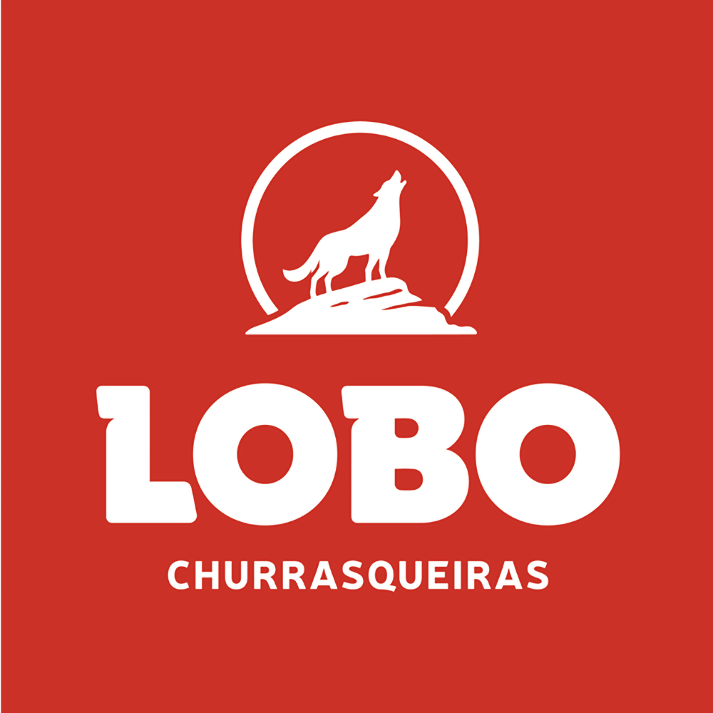 Churrasqueira Lobo Mexicana Portátil com Braseiro + 4 Espetos