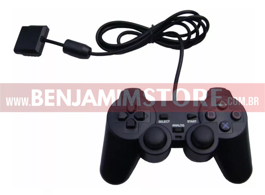 Controle Playstation 2 Ps2 Analog Controller 2