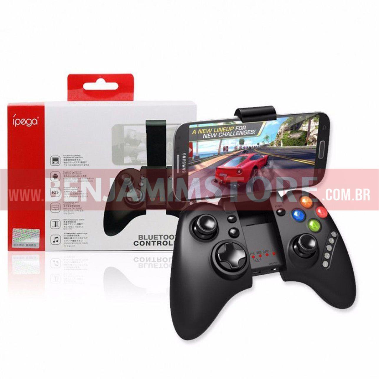 Controller Joystick Ipega Bluetooth Celular iPhone Android