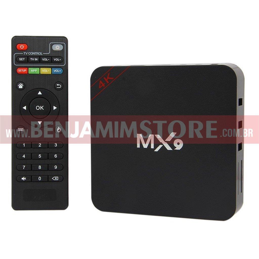 Conversor smart TV BX 3GB RAM + 16GB Armazenamento