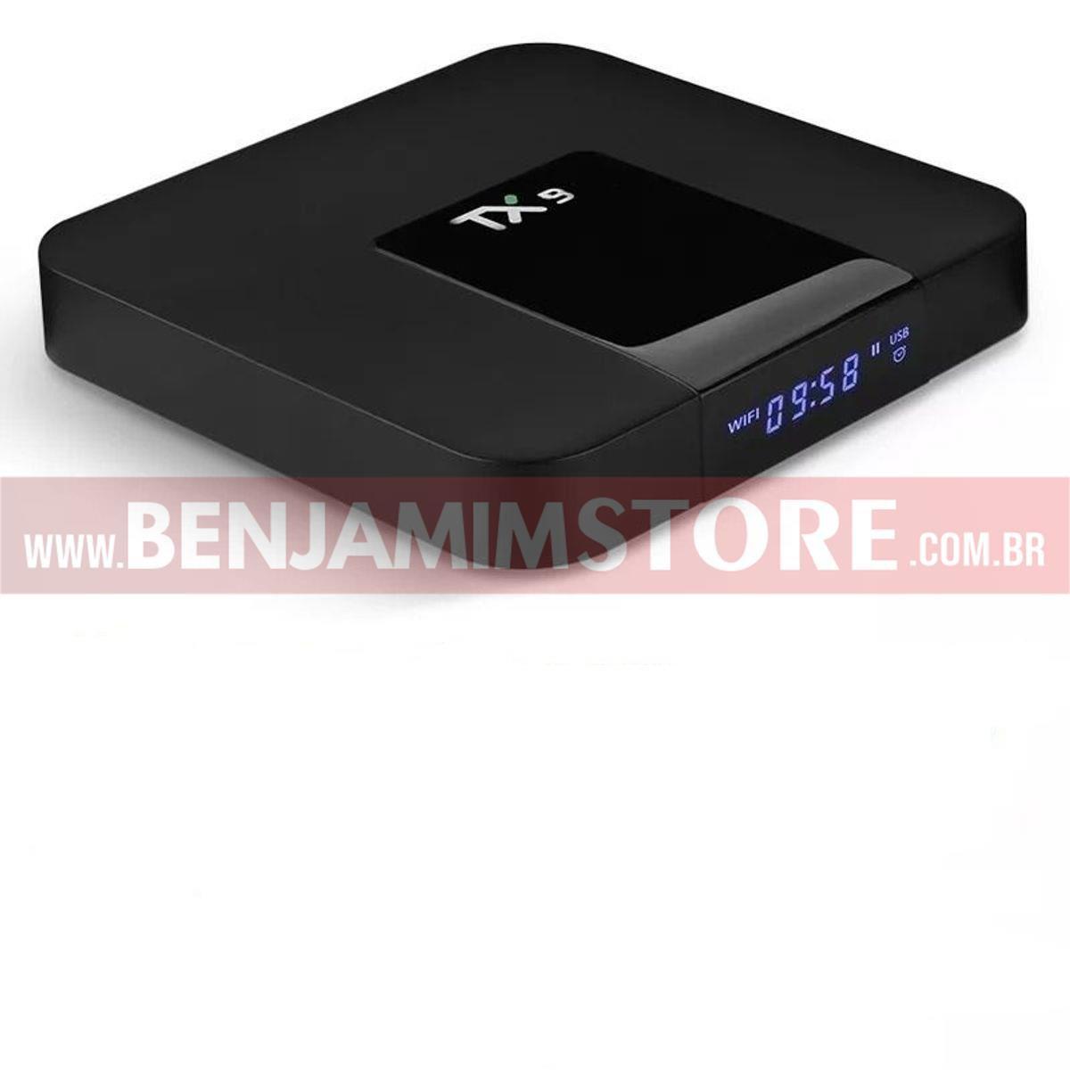 Conversor Smart TV TX9 2 Gb de Ram 16 Gb de Room