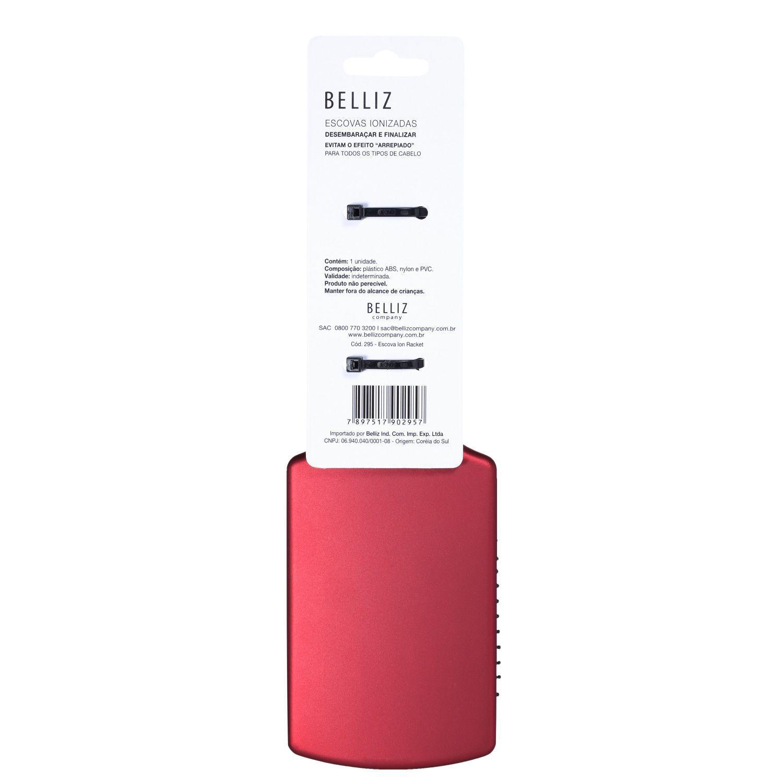 Ion Racket Belliz Company - Escova para os Cabelos