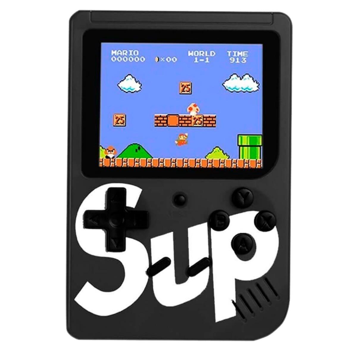 Mini Game Box Sup Retro Clássico Portátil 400 Jogos Internos