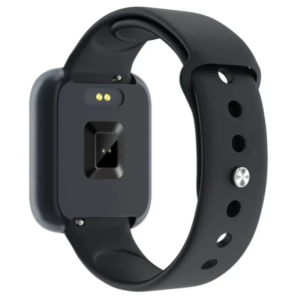P80 Relógio SmartWatch com Duas Pulseiras Batimento Cardíaco