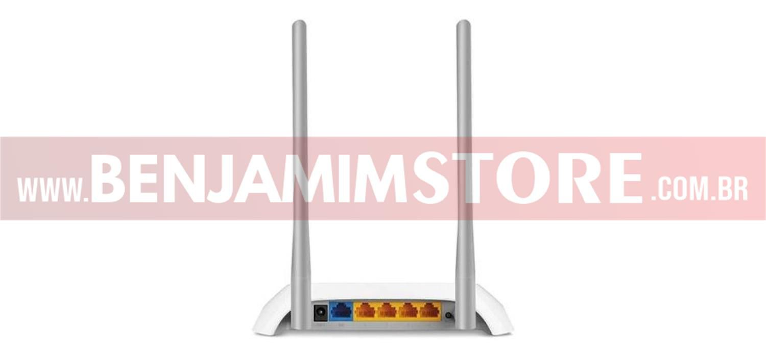 Roteador Wireless N Tp - Link 300 Mbps TL - WR849N