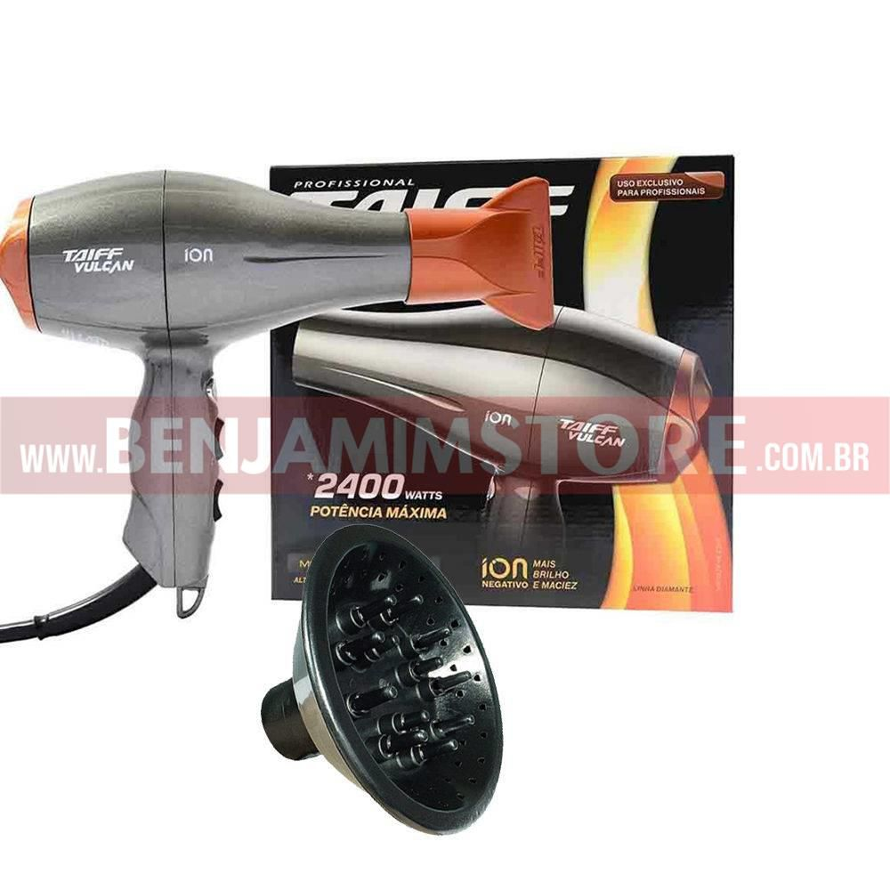 Secador Profissional Vulcan 2400w Taiff + Difusor