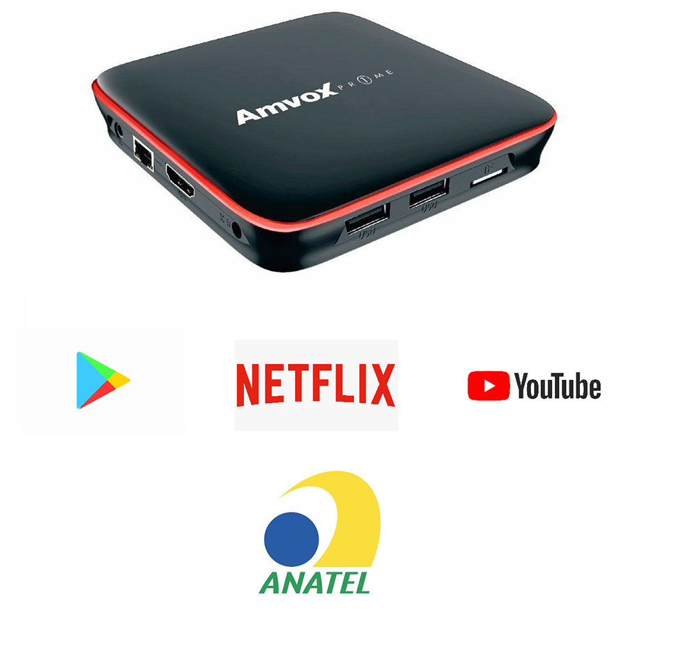 SMART TV BOX ATV 108 AMVOX