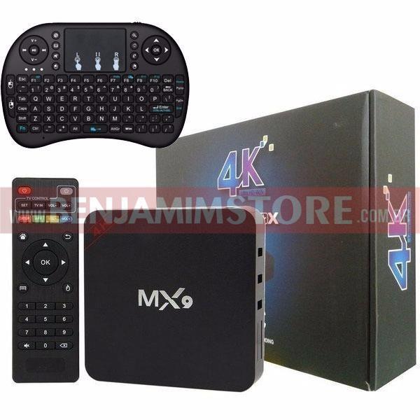 Aparelho Transforma qualquer tv em Smart  4k 2gb Ram 16gb Rom + Teclado Led