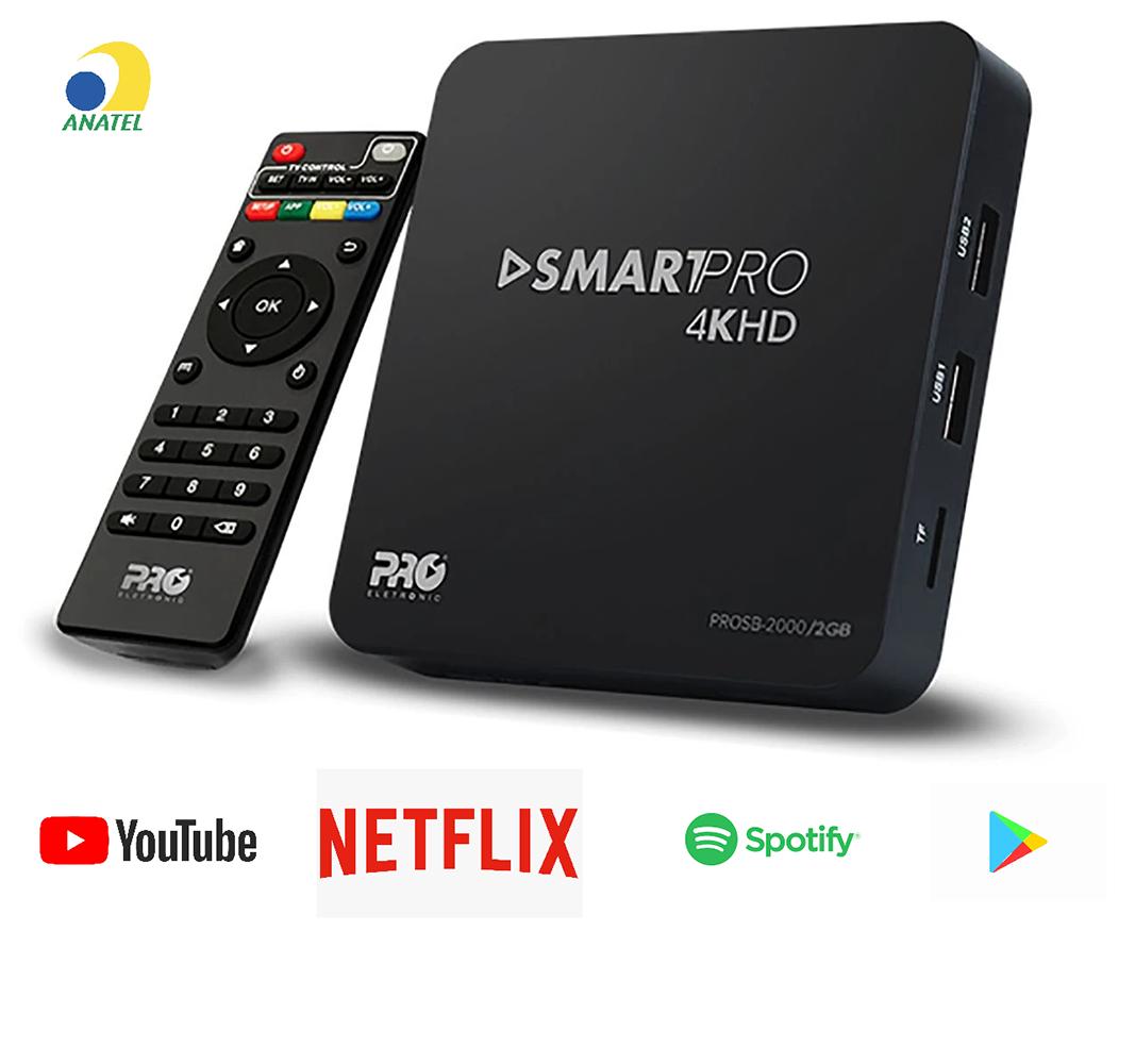 Smart Tv Pro 4K HD PROSB 2000 Proeletronic