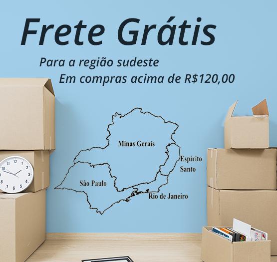 ganhe frete grátis em compras acima de r$120,00
