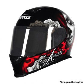CAPACETE AXXIS EAGLE LADY CATRINA