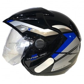 CAPACETE EBF THUNDER OPEN FORCE X