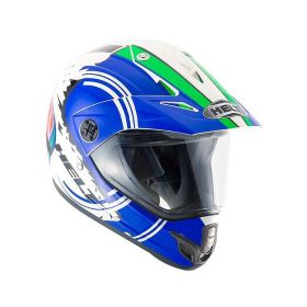 CAPACETE HELT CROSS VISION ITALY BRANCO