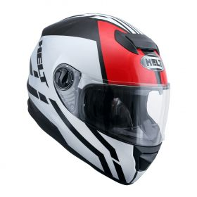 CAPACETE HELT NEW RACE GLASS ALL STAR BRANCO