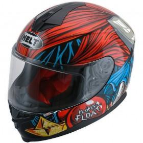 CAPACETE HELT NEW RACE JOKER VERMELHO