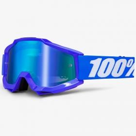 ÓCULOS 100% ACCURI REFLEX BLUE AZUL ESPELHADO