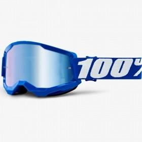 ÓCULOS 100% STRATA 2 BLUE AZUL ESPELHADO