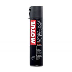 ÓLEO LUBRIFICANTE CORRENTE MOTUL C3 CHAIN LUBE OFF-ROAD 400ML