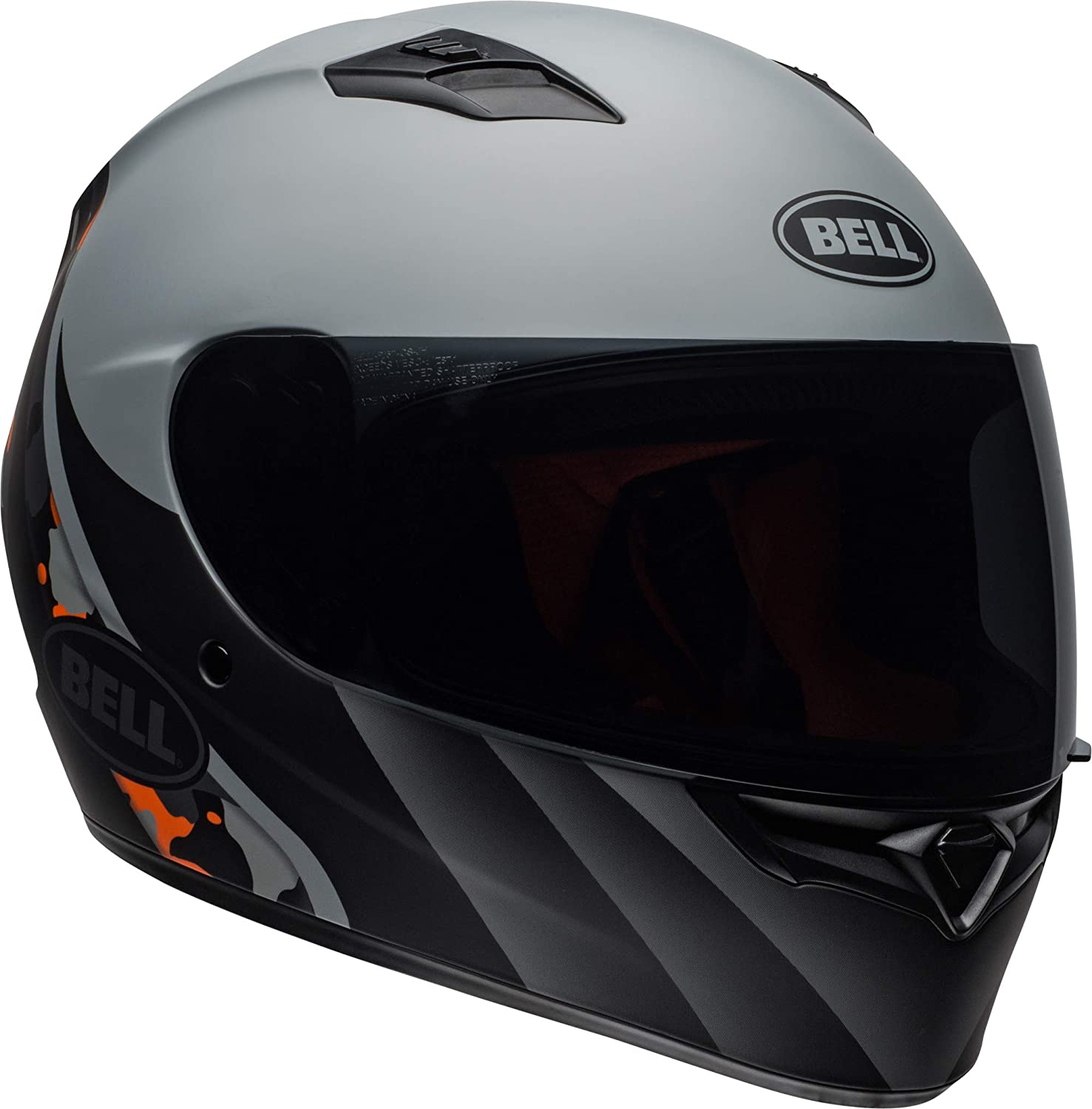CAPACETE BELL QUALIFIER INTEGRITY CINZA FOSCO