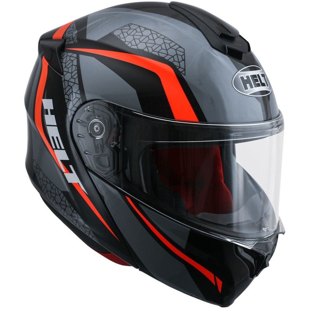 CAPACETE HELT NEW HIPPO NO LIMIT CINZA