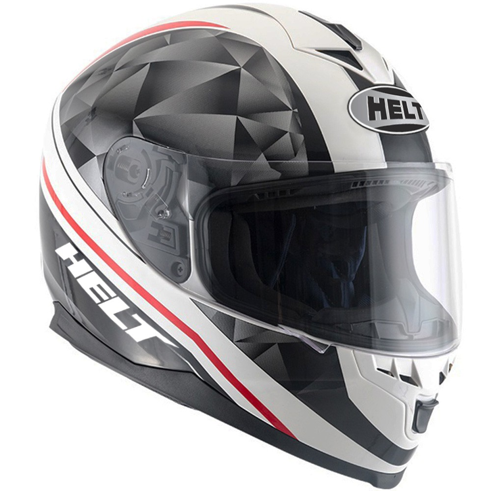 CAPACETE HELT NEW RACE CARBO BRANCO