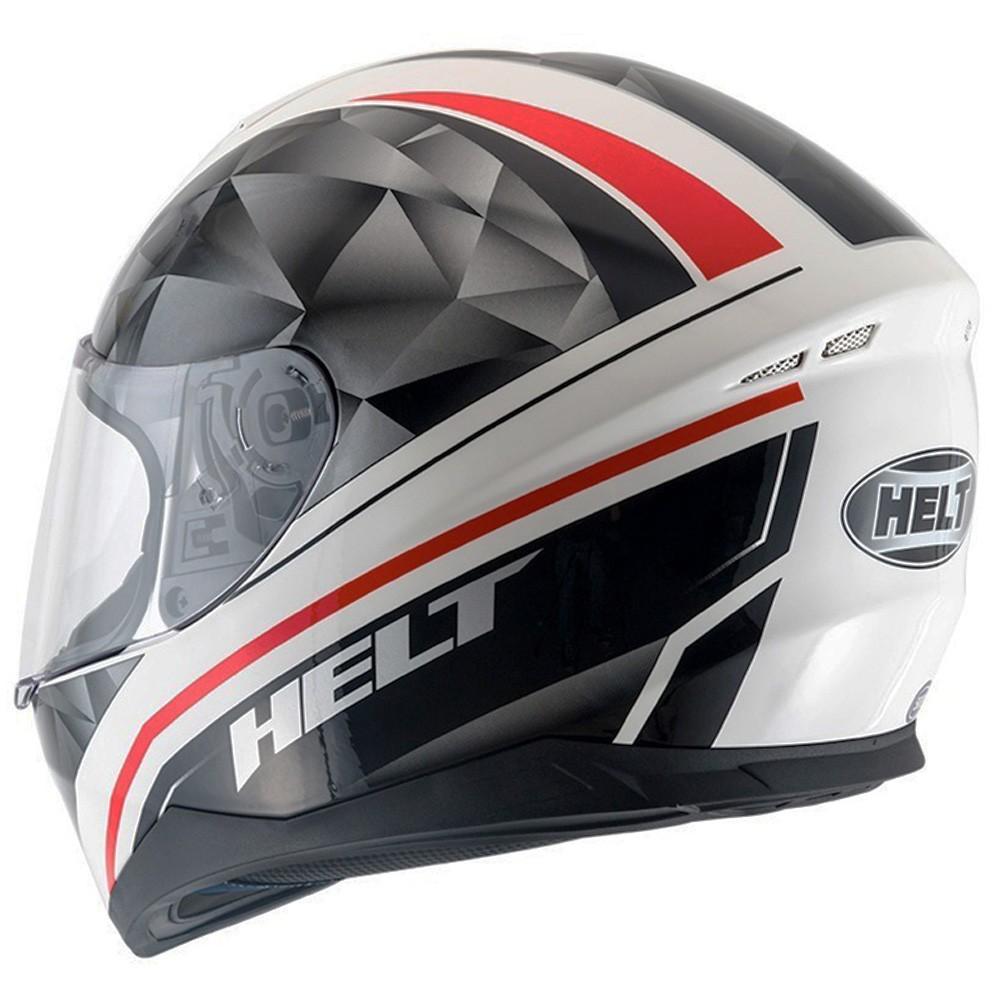 CAPACETE HELT NEW RACE CARBO BRANCO