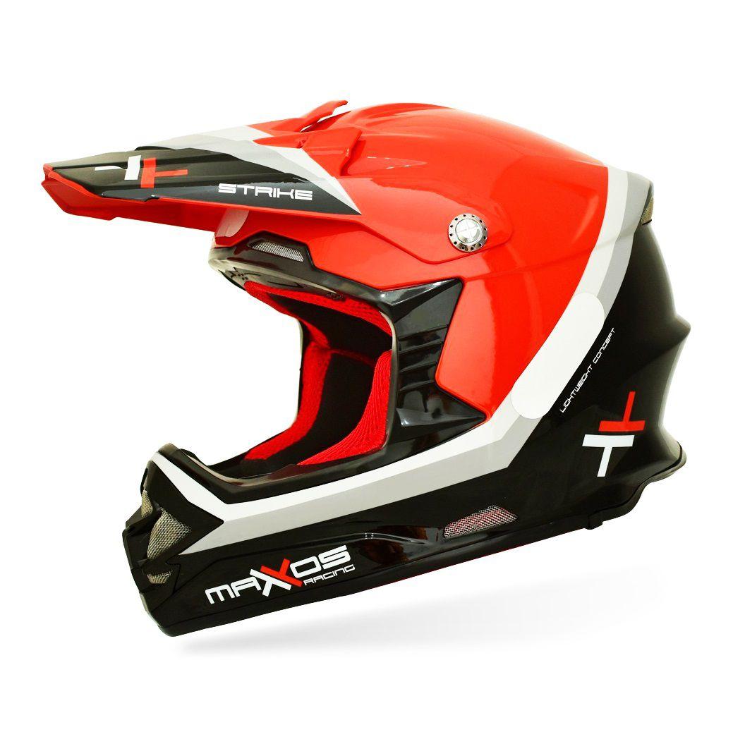 CAPACETE MATTOS RACING MX STRIKE