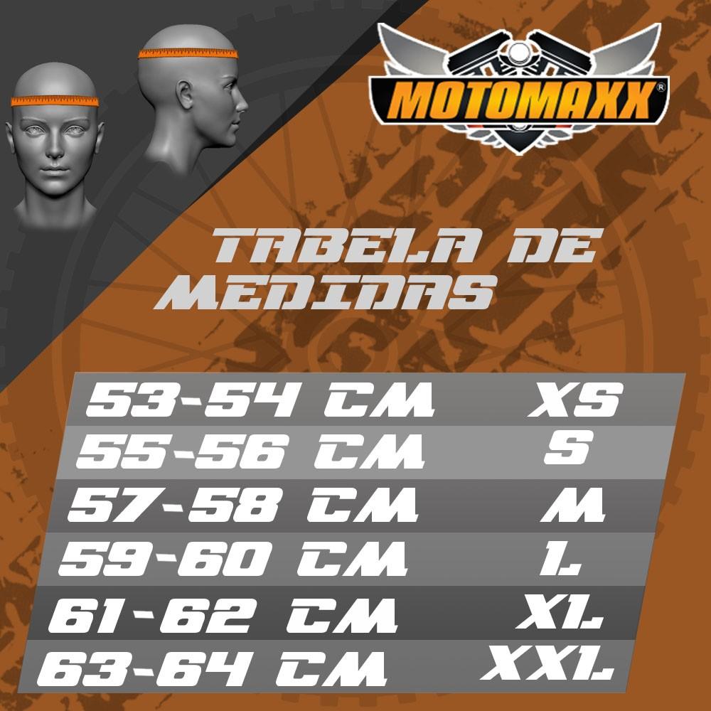 CAPACETE MIXS MX2 STORM BRILHANTE