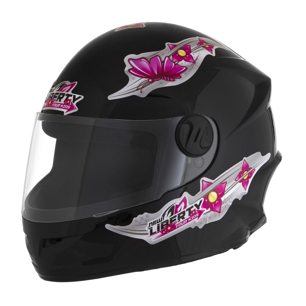 CAPACETE PRO TORK NEW LIBERTY FOUR KIDS FOR GIRLS BRILHANTE