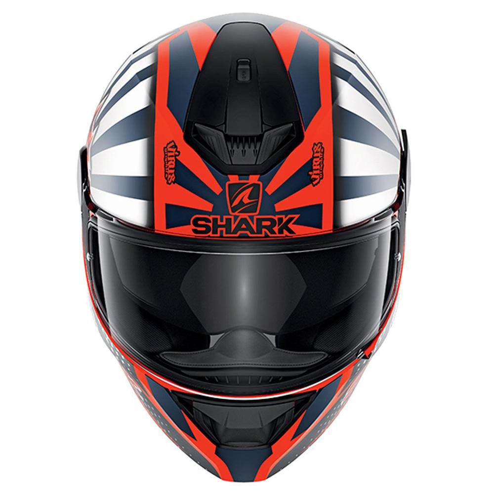 CAPACETE SHARK DSKWAL 2 ZARCO 2019 MATT OWB
