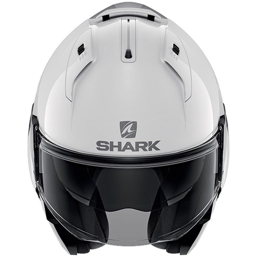 CAPACETE SHARK EVO ES BLANK WHUL BRANCO