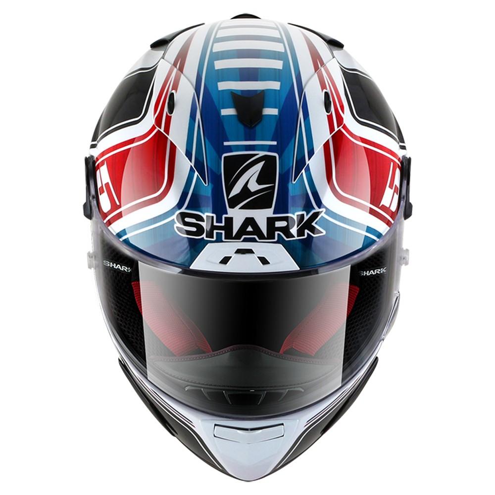 CAPACETE SHARK RACE R PRO ZARCO GP DE FRANCE GLOSSY WBR BRANCO
