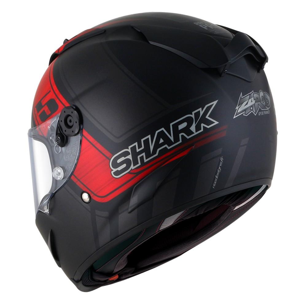CAPACETE SHARK RACE R PRO ZARCO GP DE FRANCE MATT KAR PRETO FOSCO