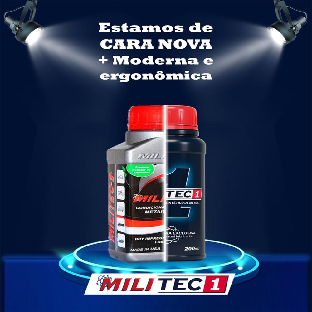 CONDICIONADOR DE METAIS MILITEC 1 40ML