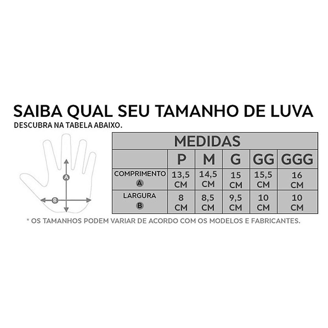 LUVA COURO HELT ÍMOLA CANO CURTO PRETA