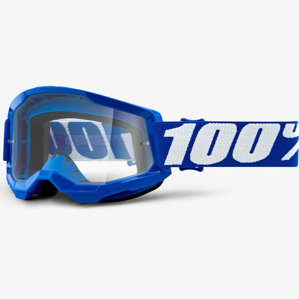 ÓCULOS 100% STRATA 2 BLUE AZUL CLEAR