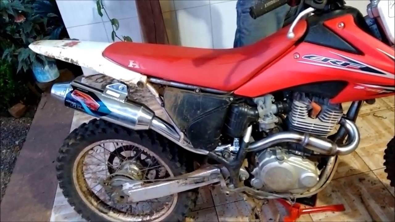 PONTEIRA ESCAPE + CURVA BRC BIG BORE HONDA CRF-230