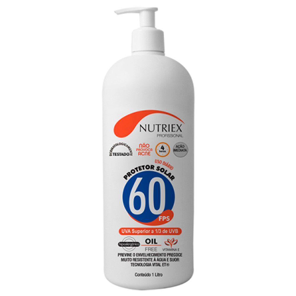 Bloqueador / Protetor solar FPS 60 1LT - Nutriex  - NEXUSEPI