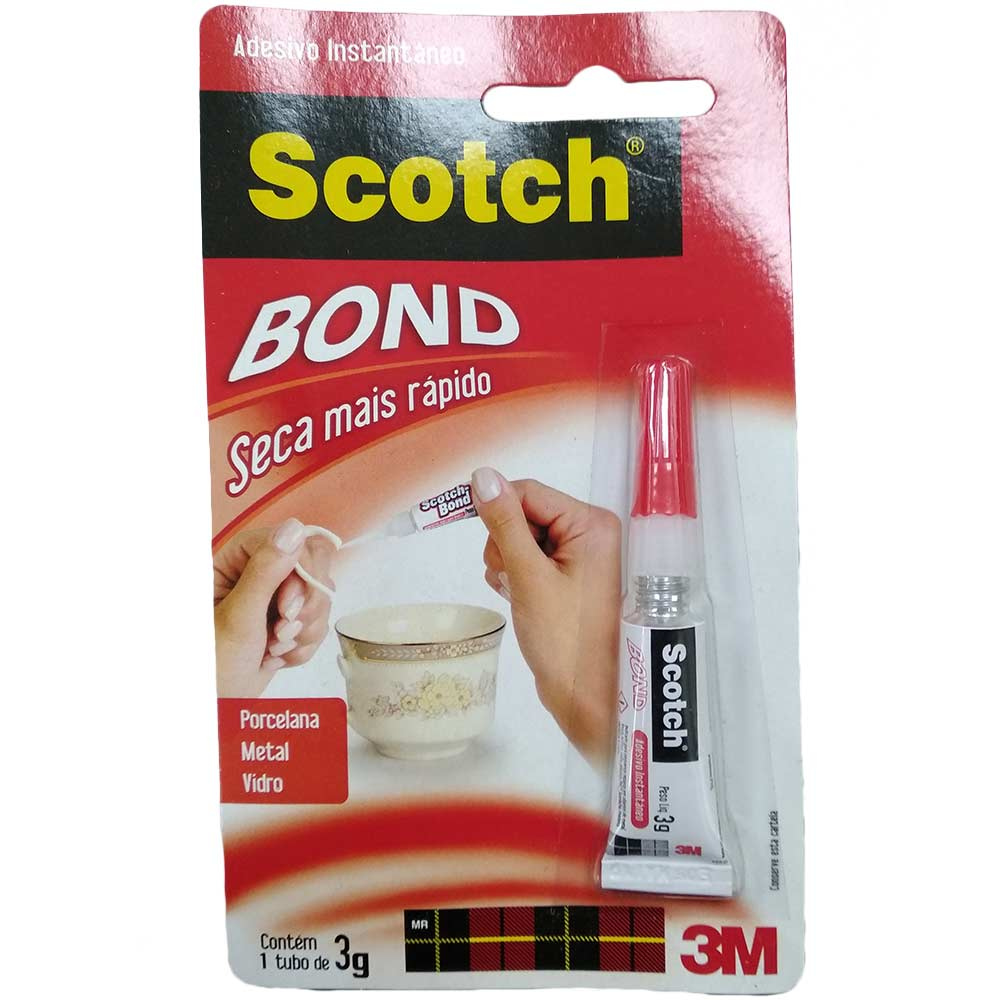 Cola Adesivo Bond 3G - Scotch  - NEXUSEPI