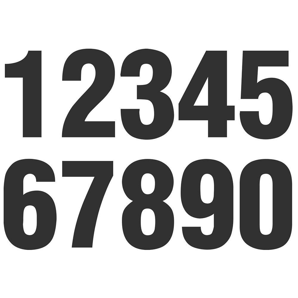 Números Adesivos - NEXUS  - NEXUSEPI