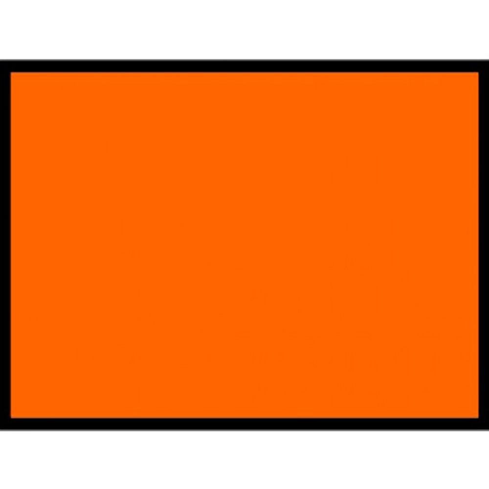 Placa Laranja Lisa (30cm X 40cm)   - NEXUSEPI