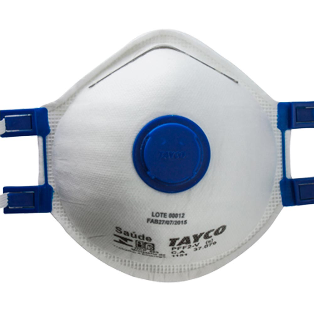 Respirador PFF1 1051 Concha C/ Valvula BCO - C.A.39198 - TAYCO  - NEXUSEPI