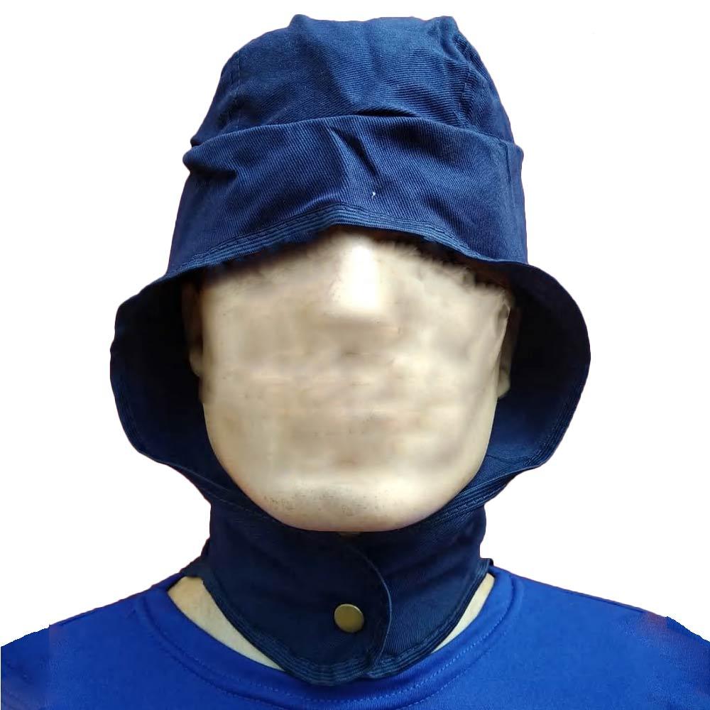 Touca Brim p/Soldador c/Botão Pressão - Azul - C.A.41404 - NEXUS  - NEXUSEPI